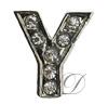 """""""Y"""" Rhinestone Charm"""