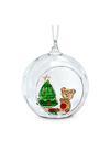 Swarovski Collections Ball Ornament, Christmas Scene