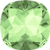 Swarovski 4470 Cushion Cut Square Fancy Stone Chrysolite 8mm