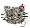 Cat Rhinestone Charm