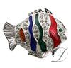 Fish Rhinestone Charm