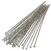 HEAD PINS, 3.0 INCHES,  21 GAUGE, SILVER PLATED