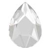 Swarovski 2303 Pear Shaped Flat Back Crystal 14x9mm