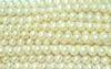 Round Pearl Bead (Drilled) 08mm Cream