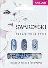 Swarovski Nail Art Loose Crystals - Blue SS5