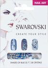 Swarovski Nail Art Loose Crystals - Blue SS7