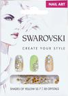 Swarovski Nail Art Loose Crystals - Yellow SS7