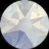 Swarovski 2058 XILION Rose Flat Back White Opal Shimmer SS5