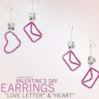 Valentines Day Earrings