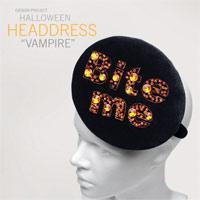 Halloween Vampire Headdress