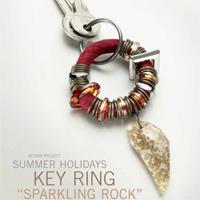 Summer Holidays Key Ring