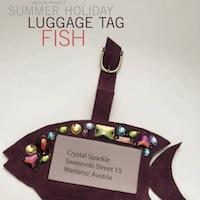 Luggage Tag Fish