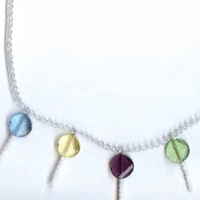 Lollipop Necklace / Earrings