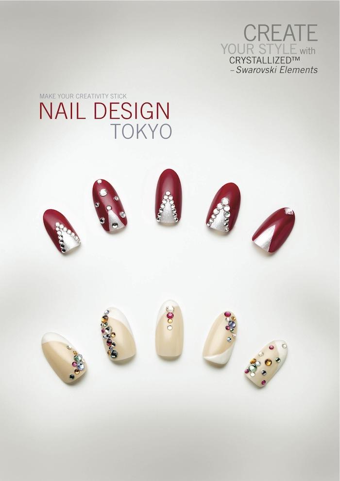 Nail Design By Swarovski Dreamtime Creations