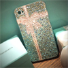 Michelle was inspired by Tiffany & Co and made this amazing iPhone 4 case.